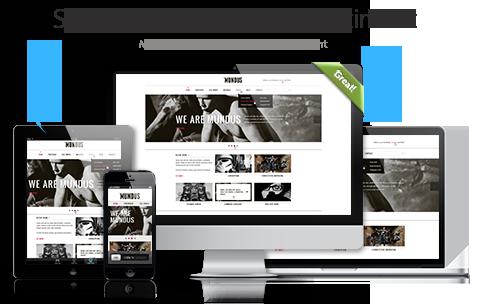 Beispiel für responsives Webdesign