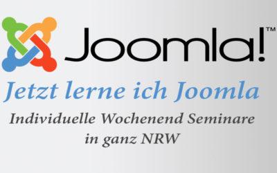 Joomla Schulung in ganz NRW