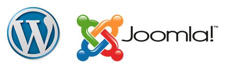 Logos von Content Management Systemen